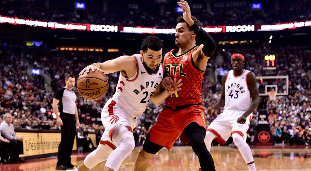 4073af0e6 Toronto Raptors point guard Fred VanVleet has been ruled out of Game