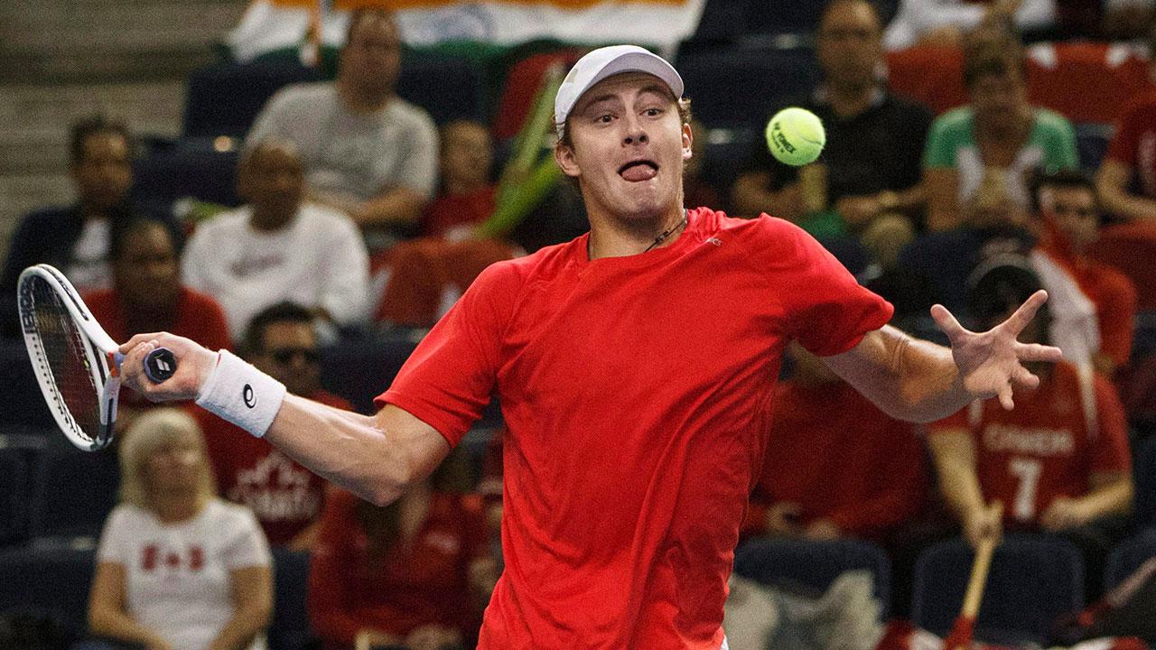 Canada's Brayden Schnur advances to final round of Wimbledon qualifying