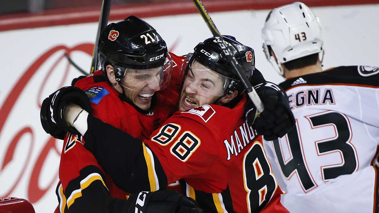 Duck Mangiapane? Rookie's Winning Tally Helps Flames To Cook Ducks