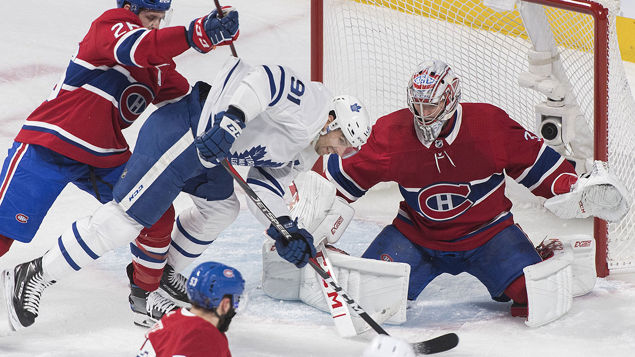 Maple Leafs-Canadiens crawls out of hibernation with thrilling clash ... 337a72fb9