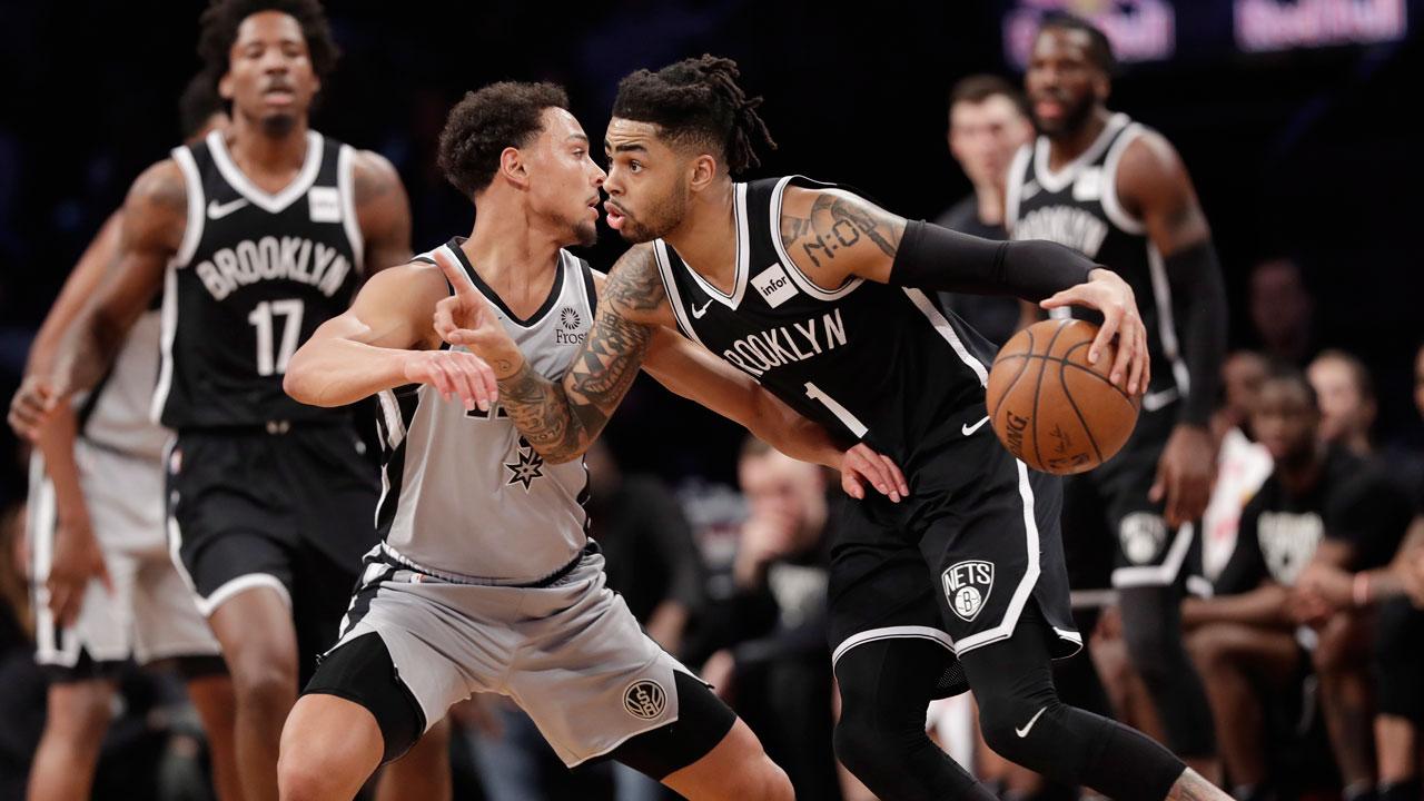 0db952b48d6 Brooklyn Nets shut down struggling San Antonio Spurs - Sportsnet.ca