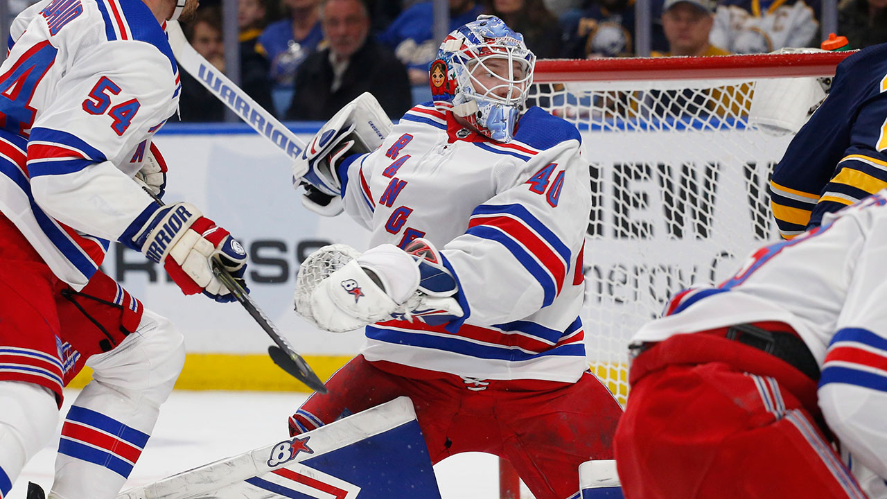 Rangers' Continue Their Push To The Playoffs By Slaying Buffalo