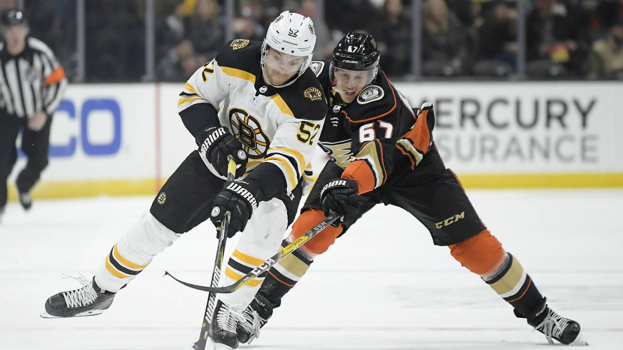 One And Done. Anaheim's One Game Winning Streak Ends With Loss To Bruins