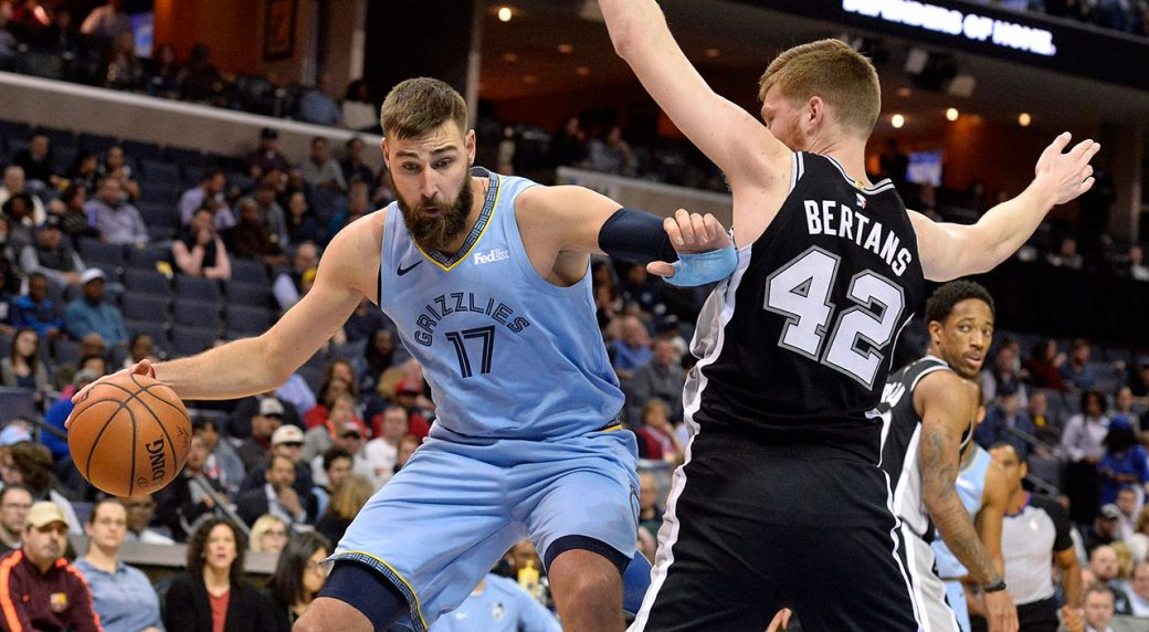 b14724c8c61 Former Raptors Wright, Valanciunas, Miles finding success with Grizzlies