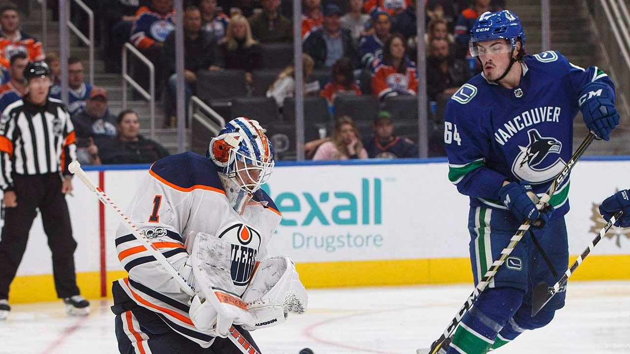 Canucks recall forward Zack Macewen from AHL Utica