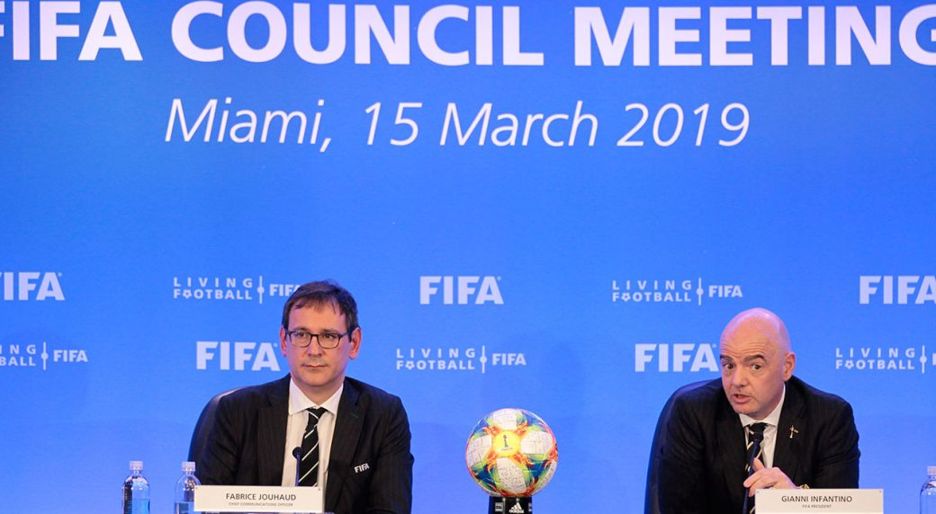 Federation Internationale de Football Association pushes ahead with 48-team World Cup, OKs new club event