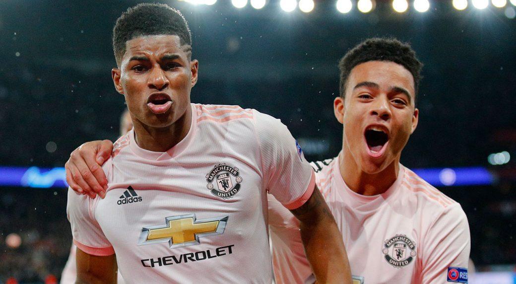 932e382ccf70c Manchester United stuns PSG to reach Champions League quarterfinals ...