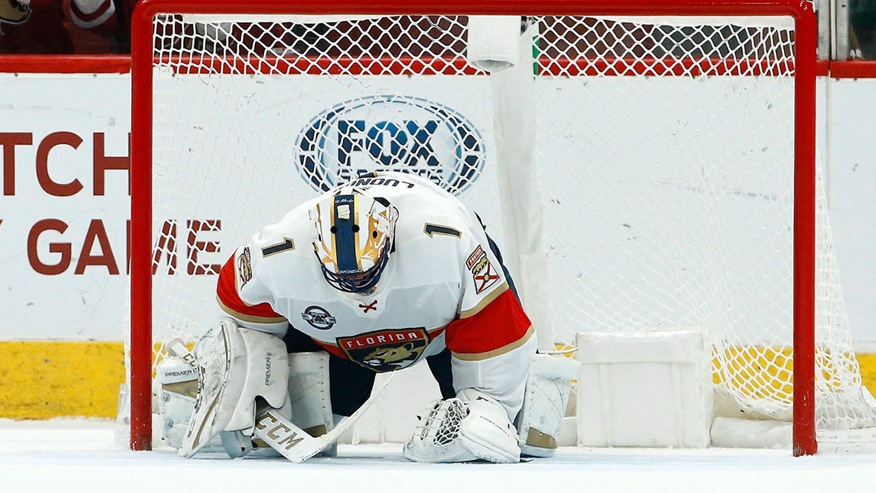 Burke, Jovanovski comment on Luongo's playing future with Panthers