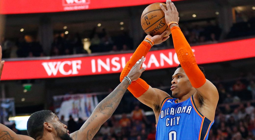 NBA All-star Westbrook threatens to 'f*** up' fan after racial slur