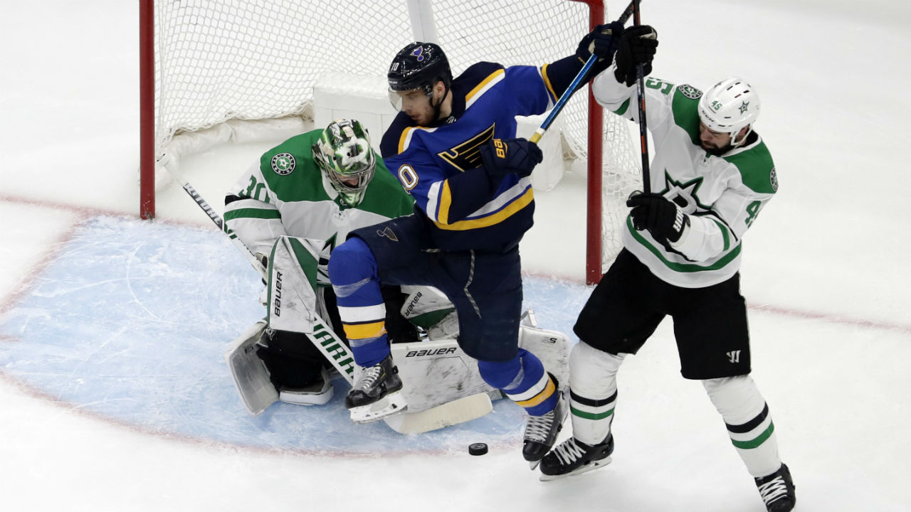 Spirit of St. Louis. Blues finish off the Stars and move on to Western Conference Finals