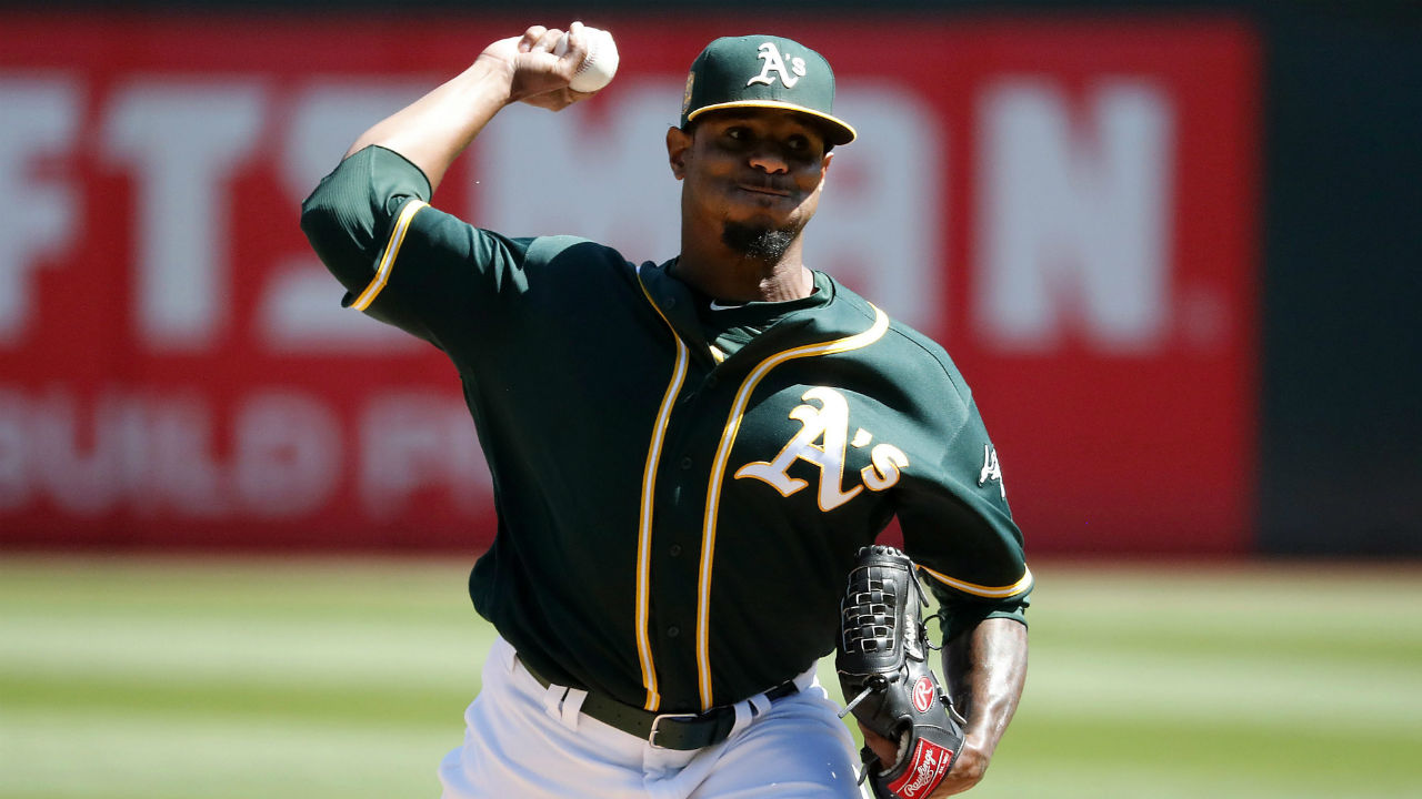 Blue Jays acquire Edwin Jackson from A's to help pitching depth