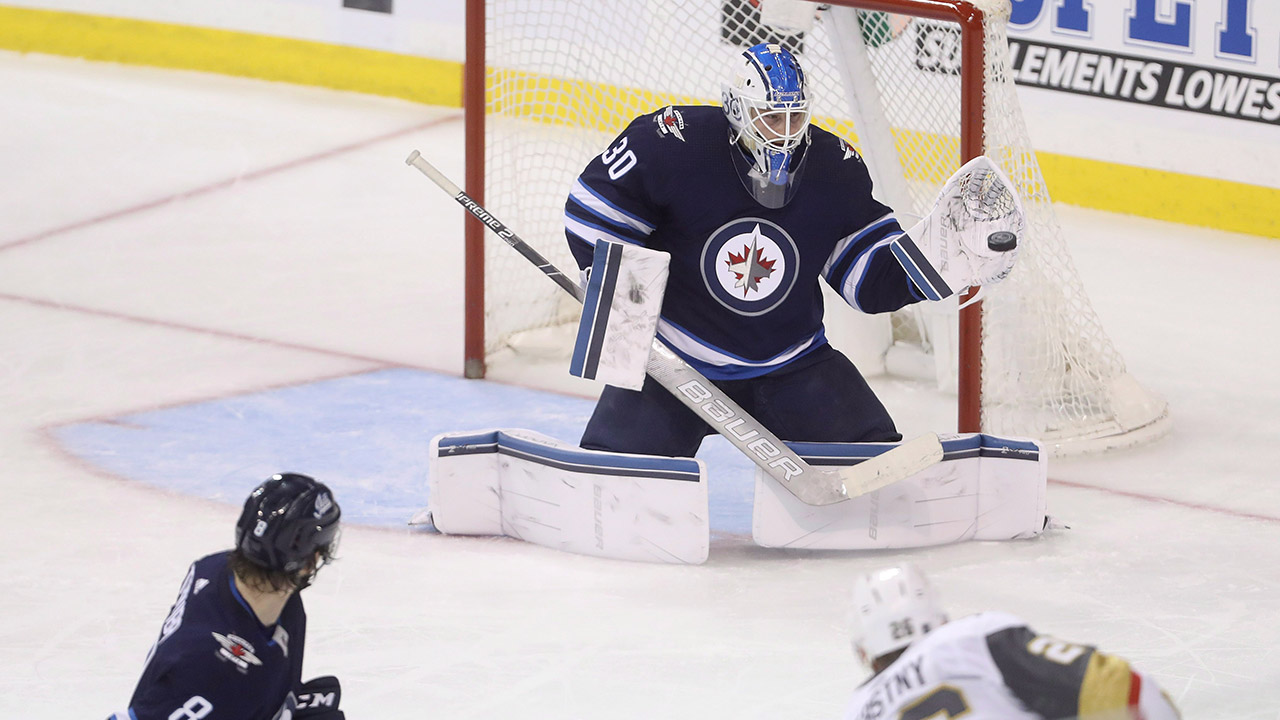 Jets sign goalie Laurent Brossoit to one-year contract