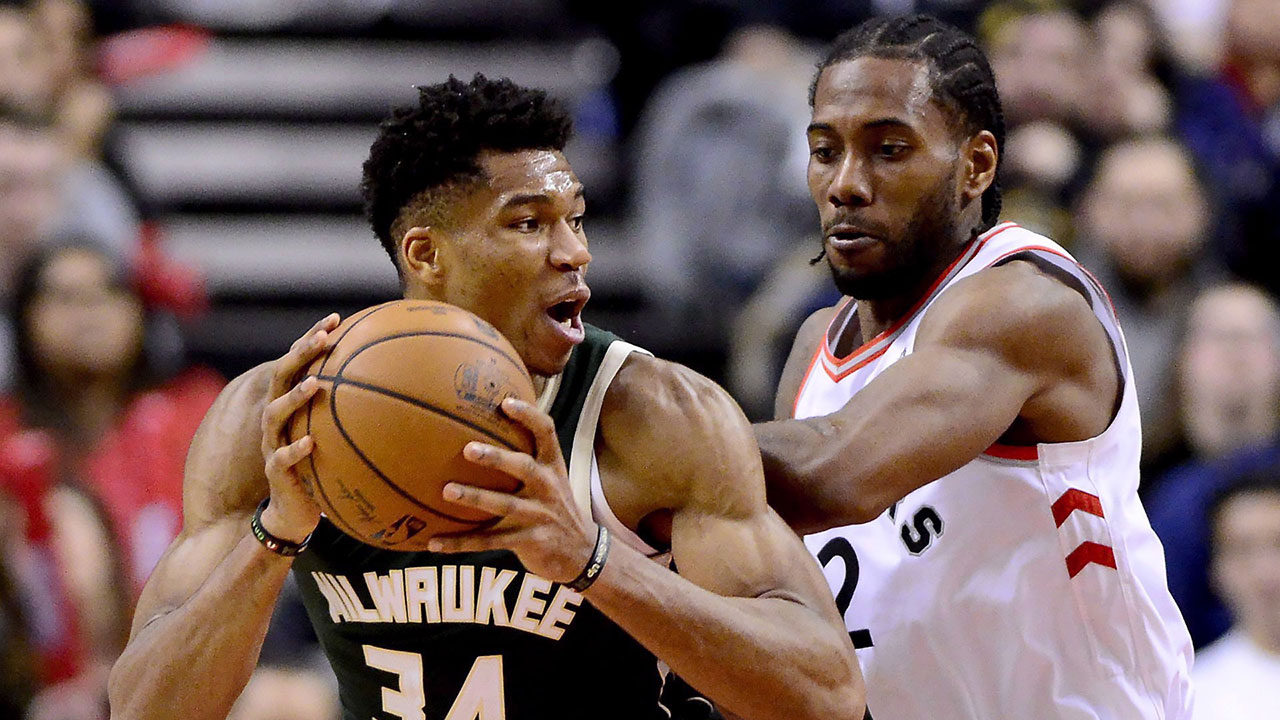 Is Raptors physicality and aggressive D wearing Giannis down?