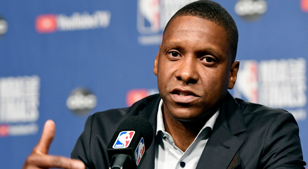 raptors-masai-ujiri-speaks-at-nba-finals-media-day