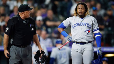 blue-jays-vladimir-guerrero-jr-talks-with-home-plate-umpire-brian-onora