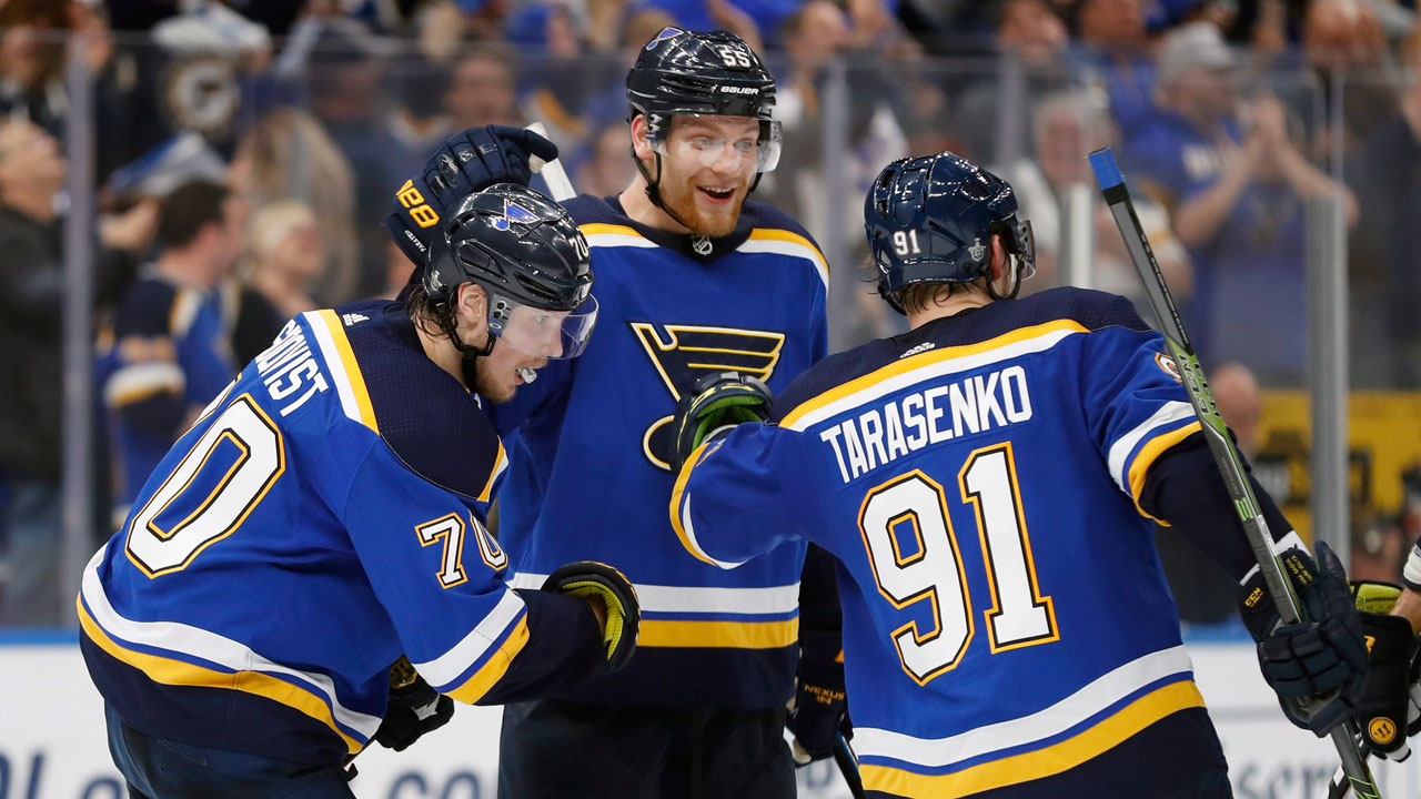 Conn Smythe Power Rankings : Blues' Tarasenko heats up down the stretch