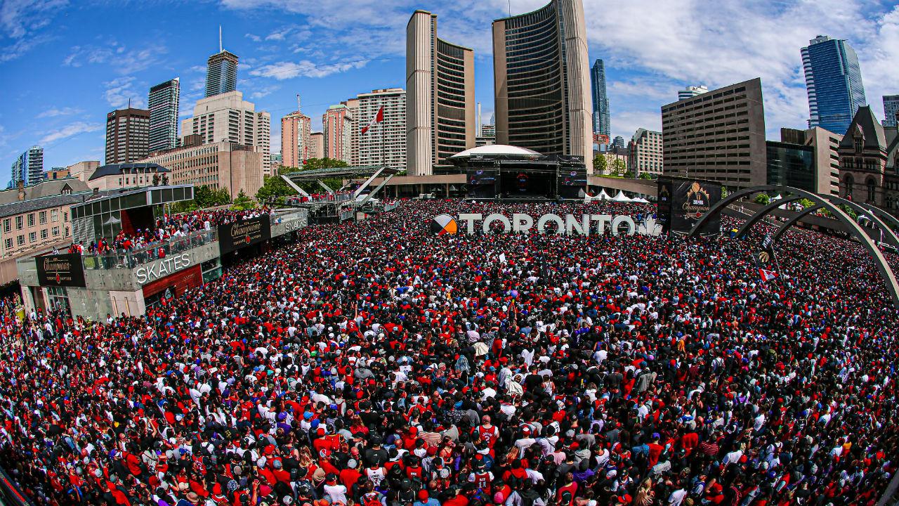 Woman reportedly shot at Toronto Raptors championship rally - Sportsnet.ca